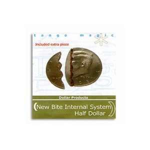 Biting Coin Half Dollar (internal, w/extra piece) by Tango
