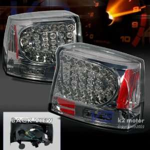 06 07 Dodge Charger Led Tail Lights Taillights Smoke