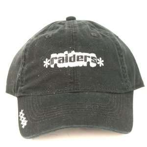 Officially Licensed NFL Oakland Raiders Womens Adjustable