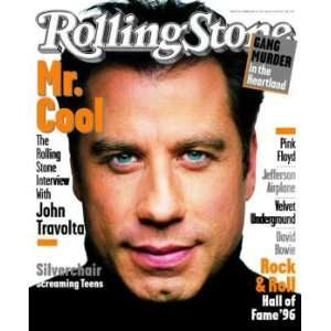 Rolling Stone Cover of John Travolta / Rolling Stone Magazine Vol. 728