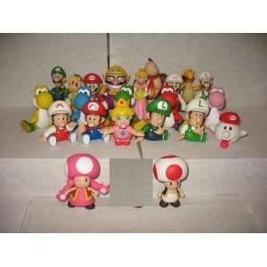Super Mario Bro Action Figure Toy 22 Pcs/set Toys & Games