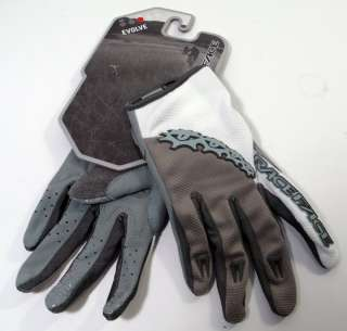Race Face Evolve Full Finger Gloves/XC/AM/White&Grey/ M