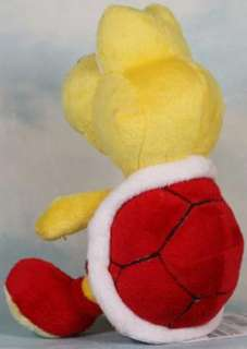 super mario bros red koopa troopa 6 soft plush toy
