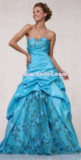1816 Strapless Quinceañera Pageant Prom Formal Gown Occasion Dress