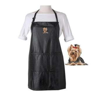 YORKIE YORKSHIRE TERRIER DOG WATERPROOF APRON GROOMING