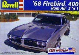REV2342 1968 Pontiac Firebird 400 Ram Air 2n1 Model Kit