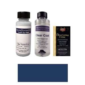 Oz. Capri Blue Metallic Paint Bottle Kit for 2002 Mercedes Benz SL