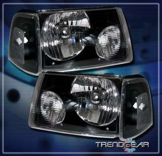 2001 2011 FORD RANGER PICKUP TRUCK CRYSTAL HEAD LIGHTS+CORNER SIGNAL