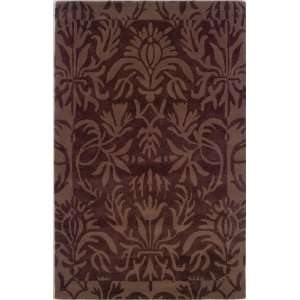 Linon Home Trends Dark Brown & Brown Rug