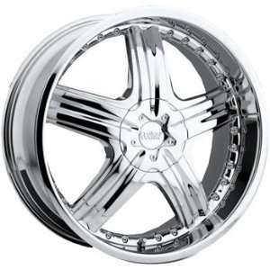Cruiser Alloy Genesis 24x9.5 Chrome Wheel / Rim 6x132 & 6x5.5 with a