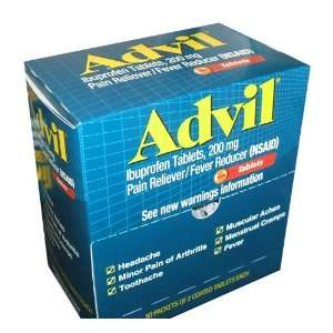 Advil Tablets Pain Reliever Refill