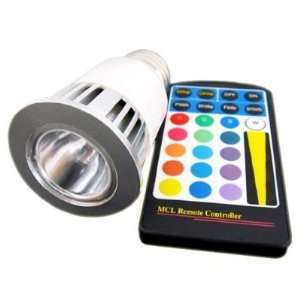 LED Light Bulb With Remote Control, 4 change modes