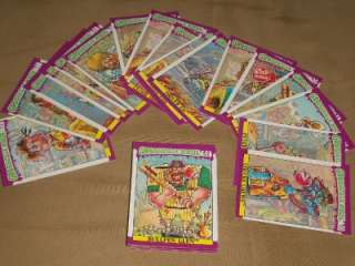 WACKY PACKAGES HUGE LOT & OTHER NON SPORTS CARDS 400+ LOOK