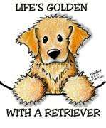 Golden Retriever Dog Tshirt Nightshirt 7424 Kiniart pet
