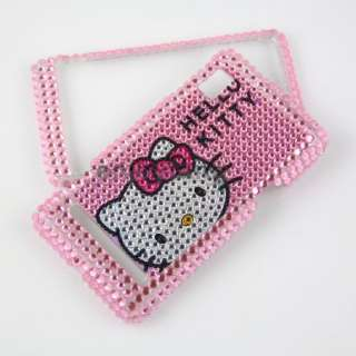 Bling Crystal Hello Kitty case Motorola Droid 2 A955 #3