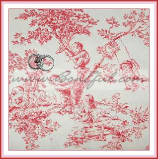 White Cotton Decor Child Baby GIRL *Nursery Toile English Rose