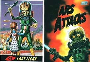 MARS ATTACKS TOPPS ARCHIVES 1994 SET(100) WITH WRAPPER