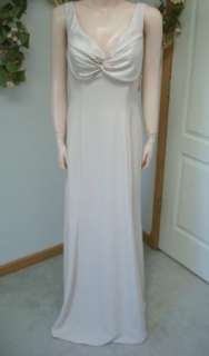 P26 NWT $150 Champagne Satin Alyce Formal Gown 12