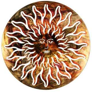 CHOICES  CELESTIAL SUN MOON, METAL 3D WALL ART, DECOR, PICTURE