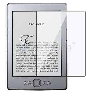 Reusable LCD Screen Protector Film For Latest  Kindle 4 4th Gen