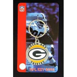 Green Bay Packers NFL Logo Key Ring