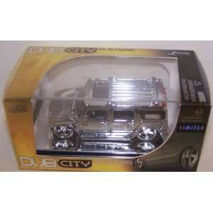 Jada Toys 1/64 Scale Diecast Dub City Kustoms Limited Edition Chrome