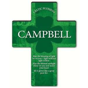 Personalized Irish Blessing Shamrock Cross Old Celtic Blessing Baby