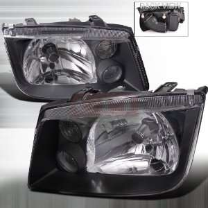 Volkswagen Jetta Euro Headlight Black Housing Performance Conversion