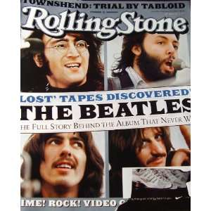 Rolling Stone Magazine February 20 2003 The Beatles Lost