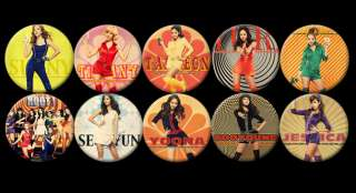 SNSD Girls Generation HOOT Korean #2 Buttons Pins Badges [P167]