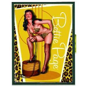 Dark Horse Deluxe Bettie Page Golden Leopard Cigarette