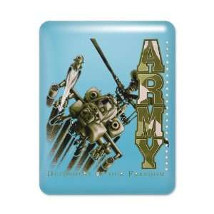 iPad Case Light Blue Army US Military Defenders Of Our