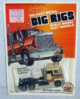 Zee Toys Big Rigs MACK TRUCK 1981 *MOC Hong Kong Tan
