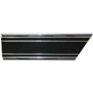 69 72 CHEVY CHEVROLET BLAZER FENDER MOLDING SUV, Lower Rear RH Side