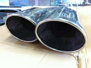 2008 2010 Porsche Cayenne Techart Muffler Exhaust Tips Dual Tailpipe
