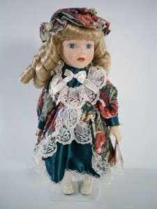 Soft Expressions Bisque Porcelain Doll Victorian 13