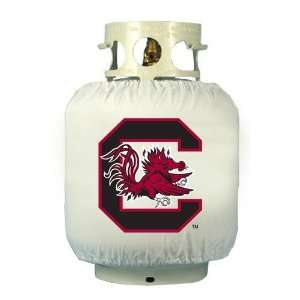South Carolina Gamecocks White Tank Wrap