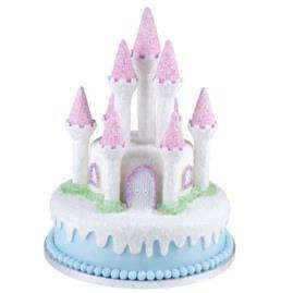 Wilton ROMANTIC CASTLE CAKE SET Fairy Princess Prince