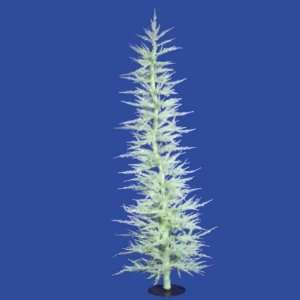 Whimsical Seafoam Green Laser Artificial Christmas Tree 5