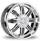 26 Inch DIVINITY D16 Chrome new Wheels&Tires 305 30 26 fit Chevy Ford
