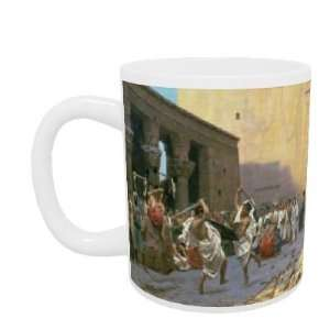 The Sword Dance (La Phyrique) by Jean Leon Gerome   Mug
