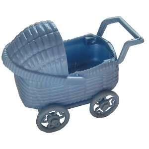 Baby Carriages, Blue Set of 2, 3