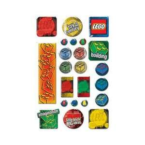 Lego Epoxy Stickers, Classic Arts, Crafts & Sewing