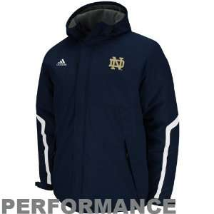 adidas Notre Dame Fighting Irish Navy Blue Primary Logo Heavyweight