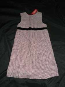 NWT Gymboree Girls CLASSIC HOLIDAY Houndstooth Dress 12