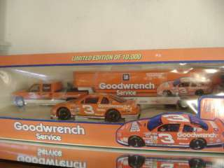 DALE SR #3 1997 WHEATIES CAR/TRUCK/SHOW TRAILER SET