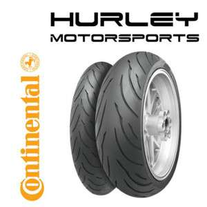 CONTINENTAL CONTI MOTION 120/70 17 190/50 17 Tire Set