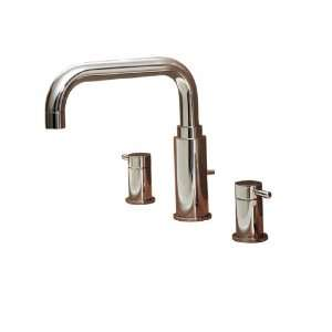 American Standard Serin Satin Nickel 2 Handle Tub & Shower Faucet with