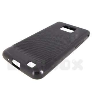 Soft TPU Gel Case Cover + Film For Samsung Galaxy S 2 i9100