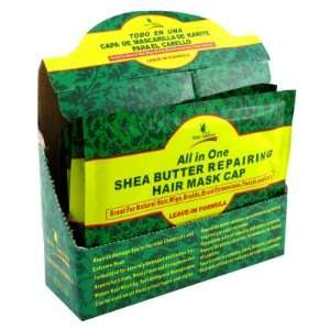 Deity All In One Shea Butter Repairing Hair Mask Cap (Pack